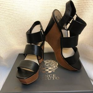 Vince Camuto High Sandals NEW in box
